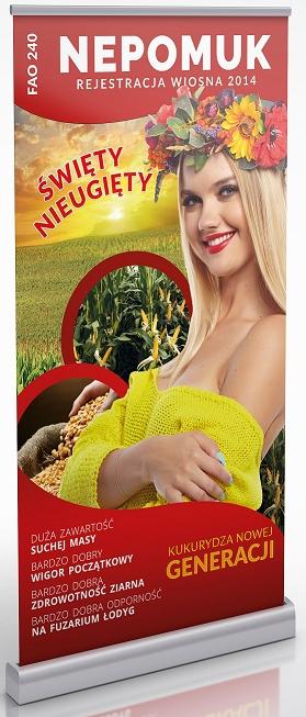 Kukurydza nasiona NEPOMUK NOWOŚĆ