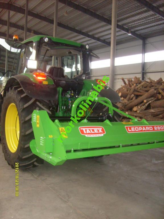 Kosiarka bijakowa rozdrabniacz mulczer TALEX LEOPARD do nieużytków ugorów kukurydzy traw