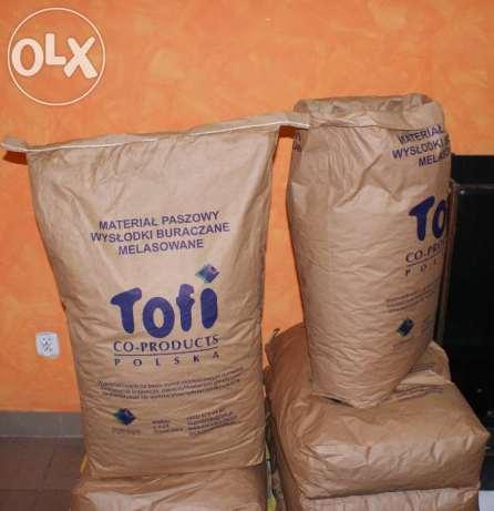 Wysłodki  melasowane  TOFI 30 kg