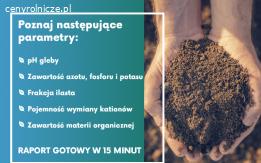 Badania gleby i analiza składników odżywczych
