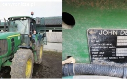 Ciągnik rolniczy John Deere 6930 2009 rok, 7488 mth