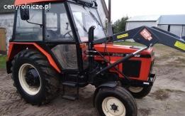 Ciągnik rolniczy Zetor 3320 z turem