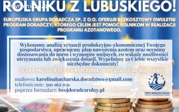 Darmowy Program Doradczy dla Rolników z województwa lubuskie