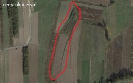 Działka rolna 0,5104 ha