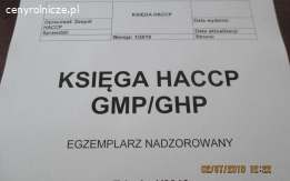 HACCP GMP GHP Doradztwo