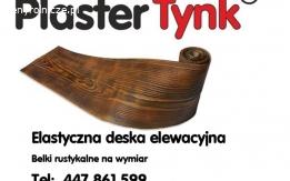HIT, PROMOCJA PlasterTynk- elastyczna deska elewacyjna , imitacja drewna