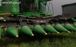 Koszenie kukurydzy na ziarno