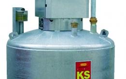 KS-Mobil 980 l do benzyny, stalowy , dwuścienny,