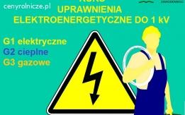Kur uprawnienia elektryczne i energetyczne do 1 kV