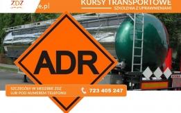 Kurs ADR przeóz towarów niebezpiecznych nawozy Wałcz