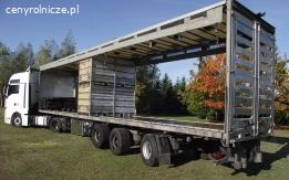 Naczepy do transportu żywca drobiowego