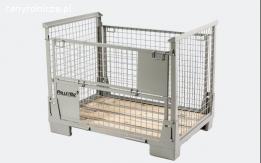 Opakowania metalowe dla przemysłu - Gitterboxy, stalowe palety, nadstawki,  Mobilracki, kosze, pojem