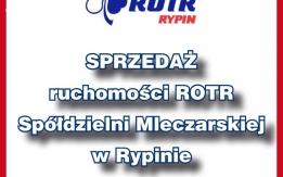 ROTR Spółdzielnia Mleczarska w Rypinie sprzeda ruchomości