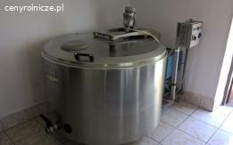Schładzarka - zbiornik chłodnia- do mleka ALFA-LAVAL 650