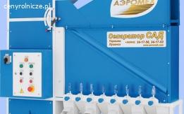 Sepratator aerodynamiczny SAD 5 , czyszczalnia do zboża, wialnia, nr 1 w Polsce