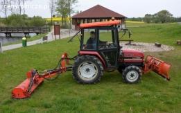 Sprzedaż traktorka Mitsubishi MT 285 z osprzętem