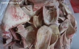 Nogi glowy  uszy wieprzowe 10000kg