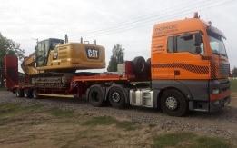 Transport niskopodwoziowy maszyn rolniczych poznań