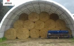 tunel rolniczy hala łukowa tunelowa 15x28  polski producent