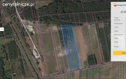 Uników działka 28523 m²