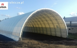 zadaszenie tunel rolniczy hala łukowa 15x30