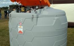 zbiornik dwupłaszczowy na paliwo Cemo