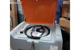 Zbiornik mobilny Cemo DT-Mobil Easy 440 l z pokrywą CENTRI SP 30, 30 l / min