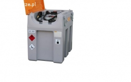 Zbiornik mobilny Cemo DT-Mobil Easy 600 l do ON z pokrywą, pompa elektryczna 40 l / min
