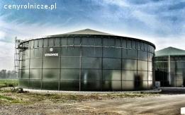 Zbiorniki emaliowane, siłosy - dostawa i montaż